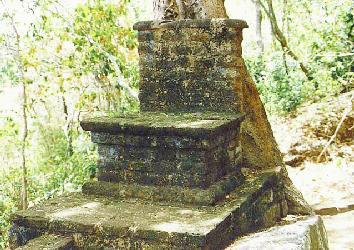 Buddhist ruins on Ritigala summit