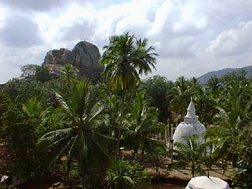 view of Mihintale