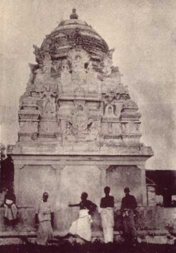 Tiruketeeswaram temple in the early 1930's