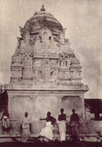 Tiruketeeswaram temple in the early 1930's